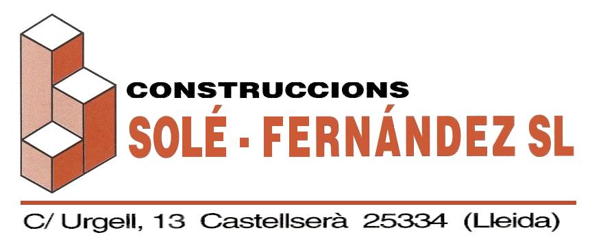 Construccions Solé Fernández S.L.