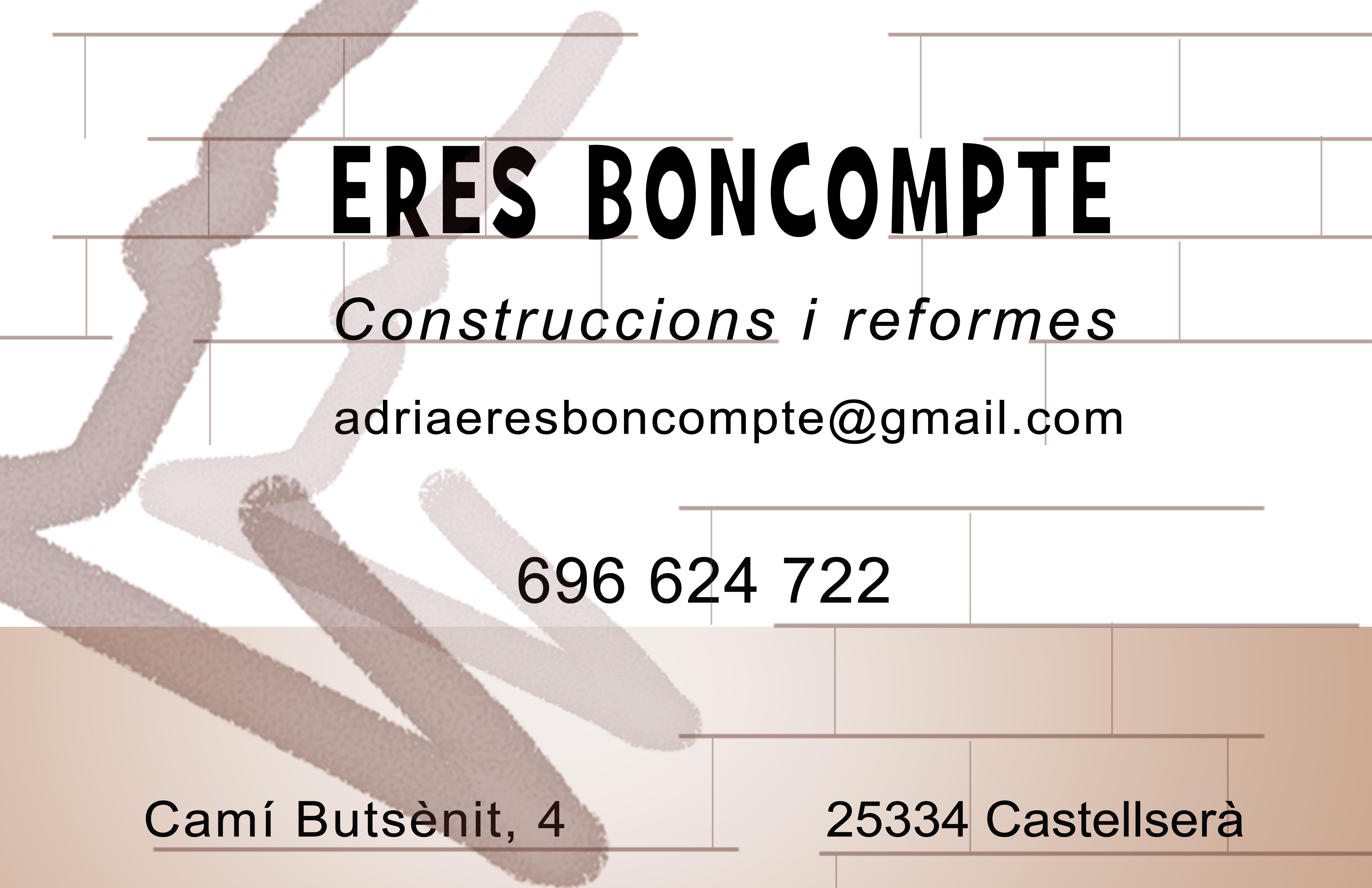 Eres Boncompte, construccions i reformes.