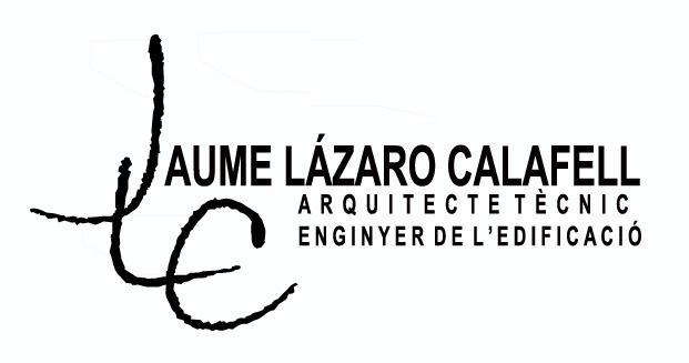 Jaume Lázaro Calafell, Arquitecte Tècnic