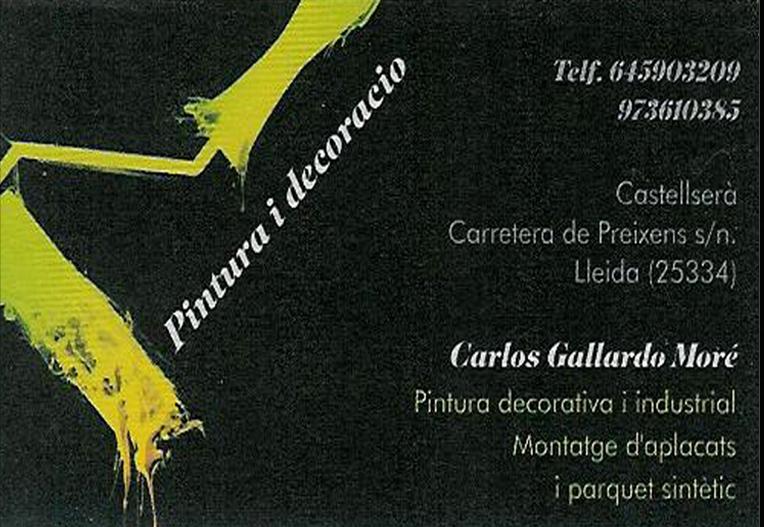 Pintures Carlos Gallardo